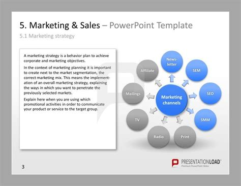 117 Best Images About Marketing Powerpoint Templates On Marketing Plan Template Powerpoint