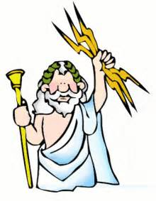 ancient greek myths for kids: the mighty zeus, king of the