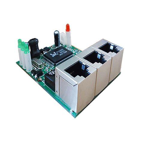 Switch Lan 4 Port aliexpress buy realtek chip rtl8306e mini 10 100mbps