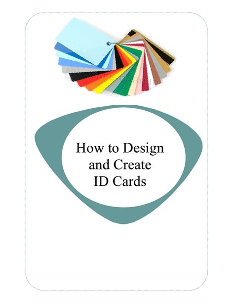 how to make an id card at home how to design and create id cards