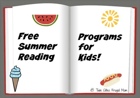 free summer reading programs for kids 2017 twin cities frugal mom