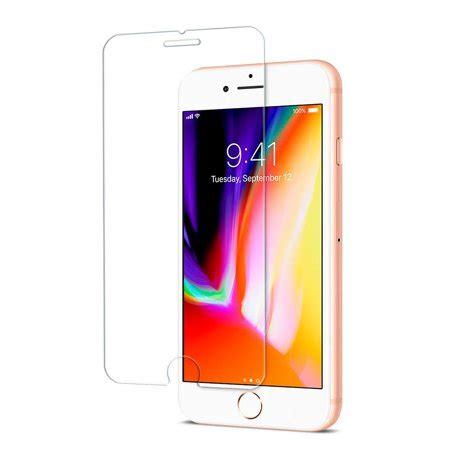 premium tempered glass screen protector for apple iphone 8 plus 7 plus walmart