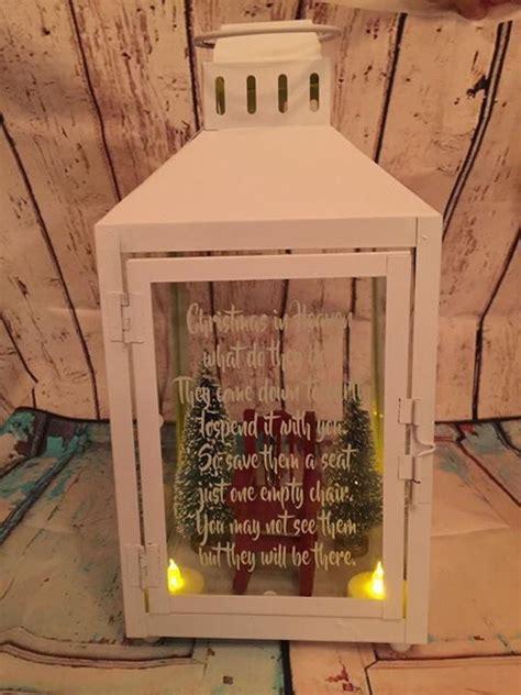 empty chair christmas memorial lantern christmas lanterns lantern christmas decor christmas
