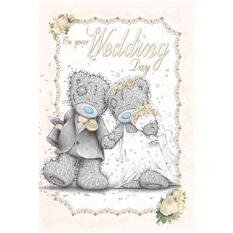 From Me To You Gift Card - me to you wedding cards bride groom husband wife congratulation card tatty teddy ebay