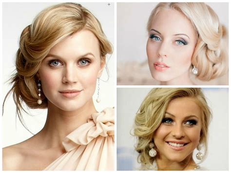 Wedding Hairstyles for a Round Face Shape   Hair World