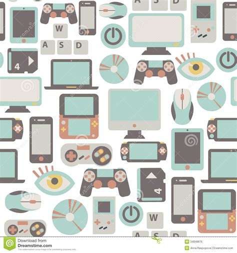 pattern games interactive game pattern stock vector image of background mouse