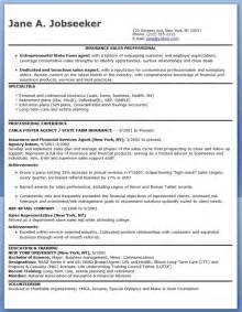 insurance sales representative resume sle resume