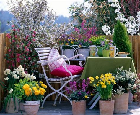 Patio Flower Garden Ideas by This And That In Treasure Box Inspiration