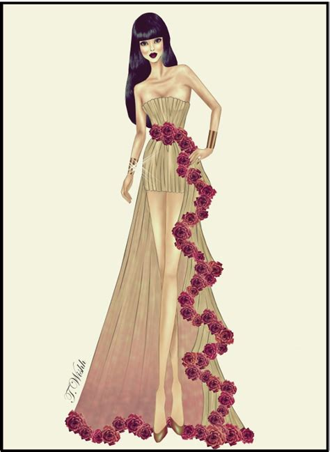 design net clothes fashion design dress 8 by twishh on deviantart