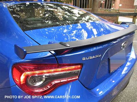 subaru brz spoiler 2016 brz exterior photos and images