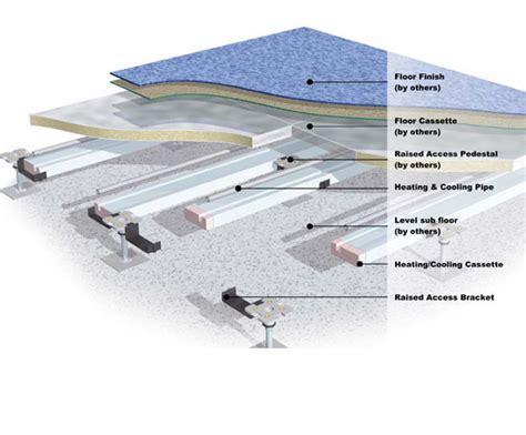 Access Floor Systems by Raised Access Floor Underfloor Heating System Wavin