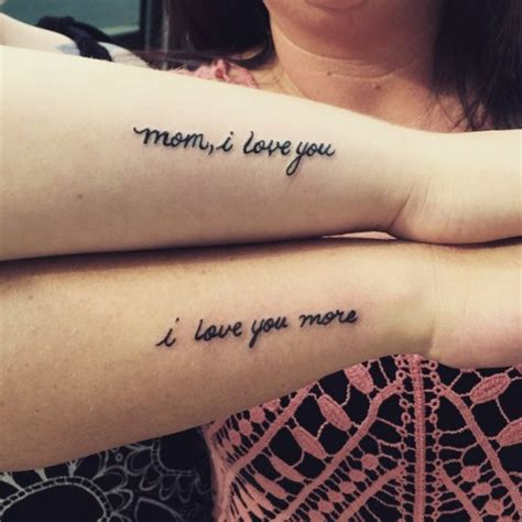 tattoo quotes for my mom tumblr 60 mother daughter tattoos herinterest com part 2
