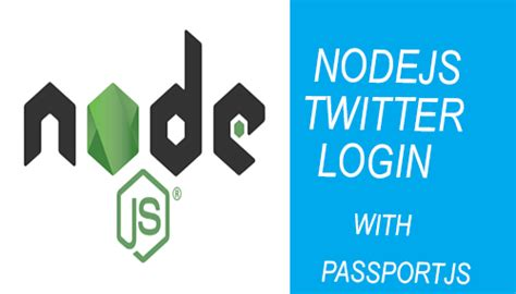 node js express generator tutorial nodejs twitter login script with expresjs and passportjs