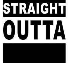 Straight Outta Blank Template Imgflip Outta Compton Photoshop Template