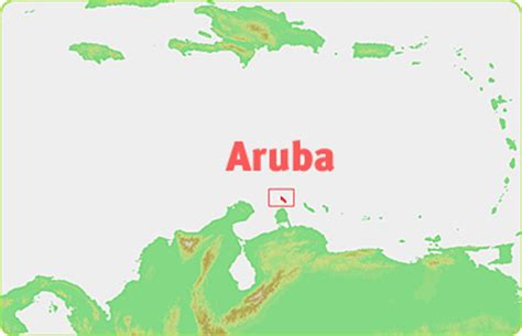 aruba location on world map location map aruba is on the south american plate