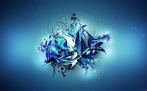 desktop wallpaper hd com 花のようなイラスト ブルー 青 のおしゃれなipad2用壁紙 高画質 1024 215 768以上 naver まとめ