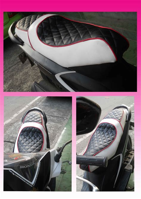 Busa Dan Kulit Honda Vario 110 Vario Lama bengkel jok motor jok modifikasi honda beat model sofa