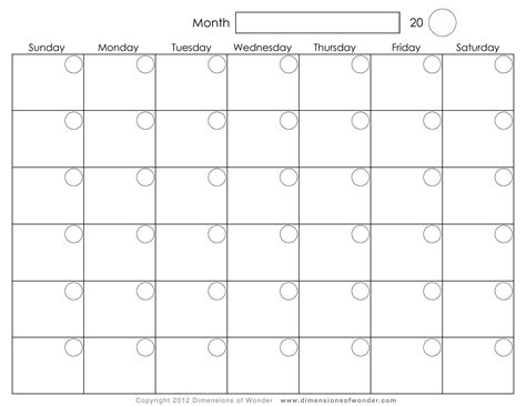2016 monthly calendar template monthly calendar free free printable 2016