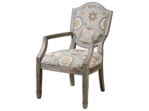Uttermost Chairs by Uttermost Valene Weathered Accent Chair Ut23174
