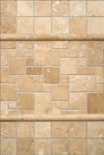 ivory travertine backsplash transitional tile by