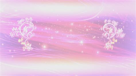 floral lights 4k pink floral thread of lights title intro motion
