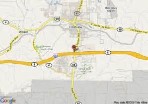 map of carlson inn suites by carlson crestview fl