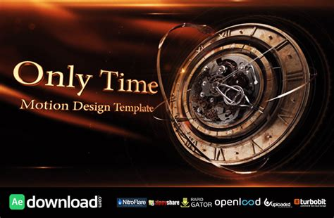 only time videohive free template free after effects
