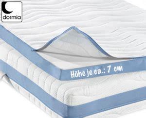 premium matratzen dormia matratzen topper premium bei aldi s 252 d erh 228 ltlich