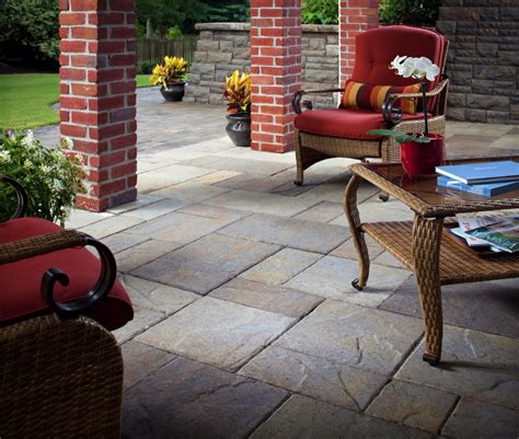 outdoor slate tile patio flooring options expert tips install  direct