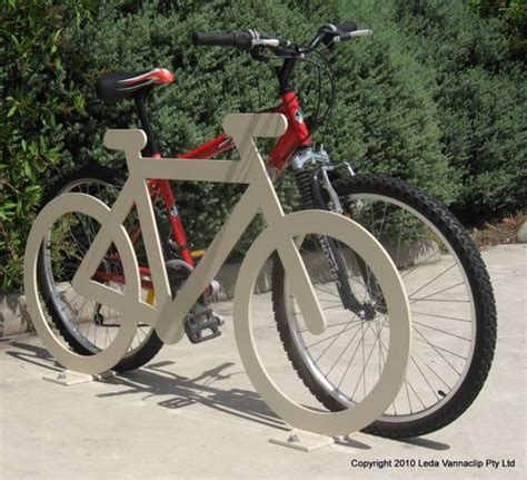 Bike Rack Number Plate Nsw by Bike Hitching Rail Bicycle Shaped