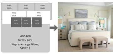 How To Arrange Pillows On A Bed by Ways To Arrange Bed Pillows Superior Custom Linens