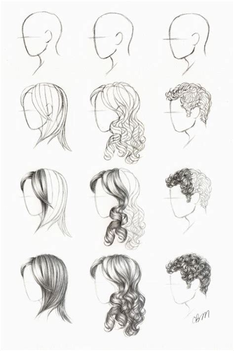 step by step hairstyles to draw 25 best ideas about drawing hair on pinterest how to