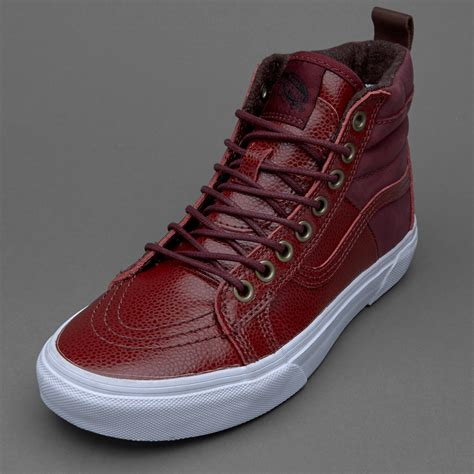Sepatu Vans Sk8 Rebel Eight sepatu sneakers vans womens sk8 hi 46 mte pebble leather