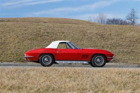 1967 chevrolet corvette numbers matching big block factory air conditioning