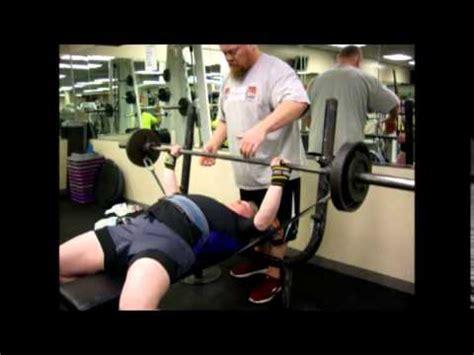 teen bench press megan doyle 198 teen powerlifting bench press training