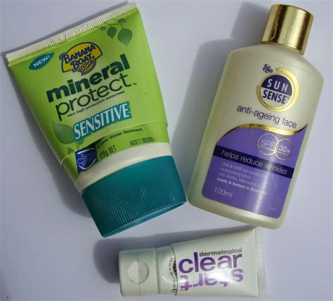 does banana boat sunscreen expire little white truths october 2014 empties products