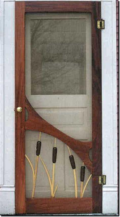 wood screen door plans easy diy woodworking projects
