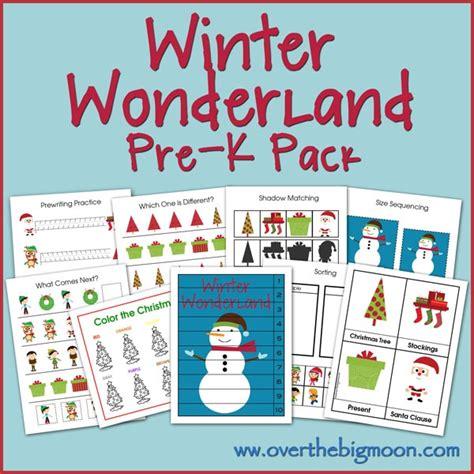 kindergarten activities january pre kindergarten winter worksheets cut and paste
