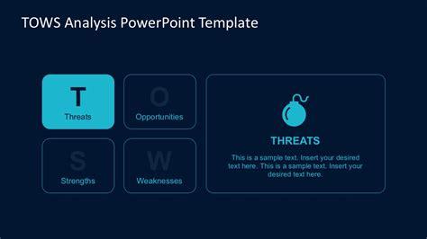 Tows Analysis Powerpoint Template Slidemodel Tows Analysis Template