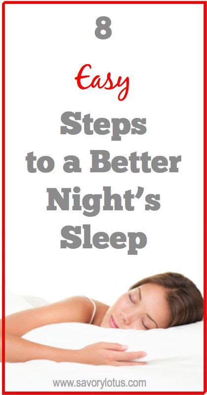 natural ways to sleep better 8 easy steps to a better night s sleep ways to sleep