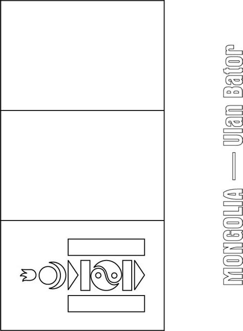 mongolia free coloring pages