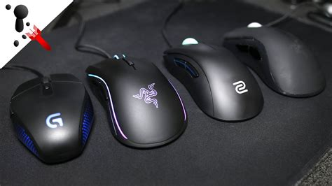 Zowie Ec2a Gaming Mouse zowie ec2 a vs razer deathadder and mamba vs logitech g303 comparison review