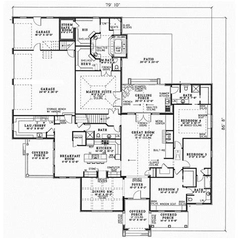 Floor Plans With Safe Rooms safe room laundry house plans pinterest