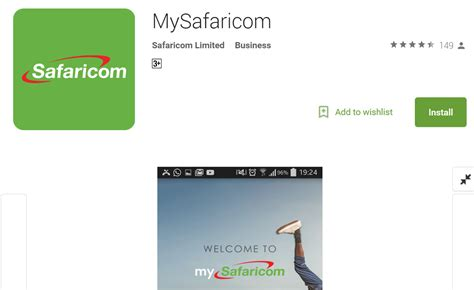 install app for android how to install the mysafaricom android app biashara