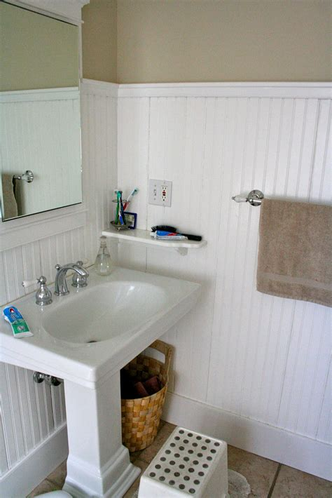 bathroom with beadboard � classic style homesfeed
