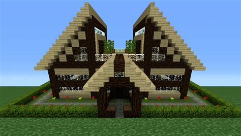 wooden house in minecraft minecraft tutorial how to make a wooden house 11 youtube