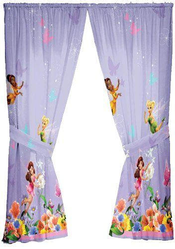 tinkerbell curtains decorating ideas for a little girl s bedroom fairy themed