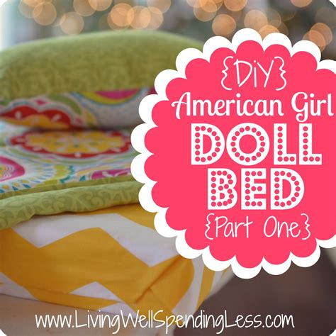 diy american doll bed pdf diy easy diy 18in doll furniture free wood shelves projects diywoodplans