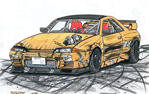 drift cars drawings nissan skyline gts t type m drift missile by jmig3 on