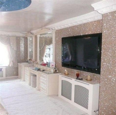 glitter wallpaper essex ściany rozświetlone brokatem http domomator pl sciany